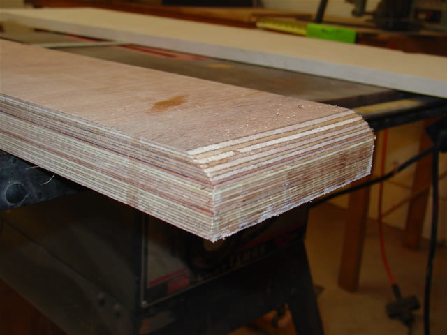 ... ply for the transom beam instead of the 2x6 called for in the plans